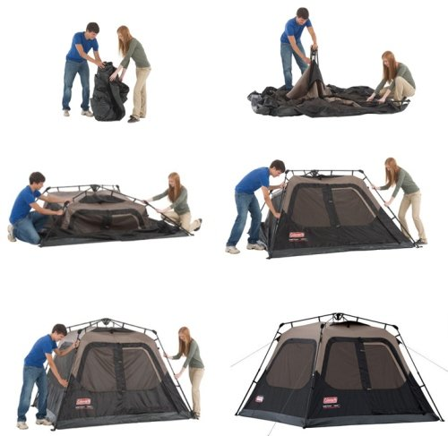 Instant Tents can be set up or taken down in less than one minute