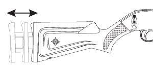 Adjustable Stock Air Rifle