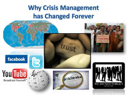 Real-world factors that affect crisis management