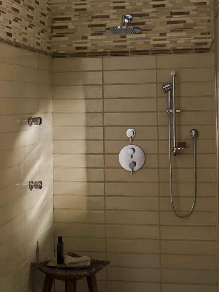 Shower Head Slide Bar Installation