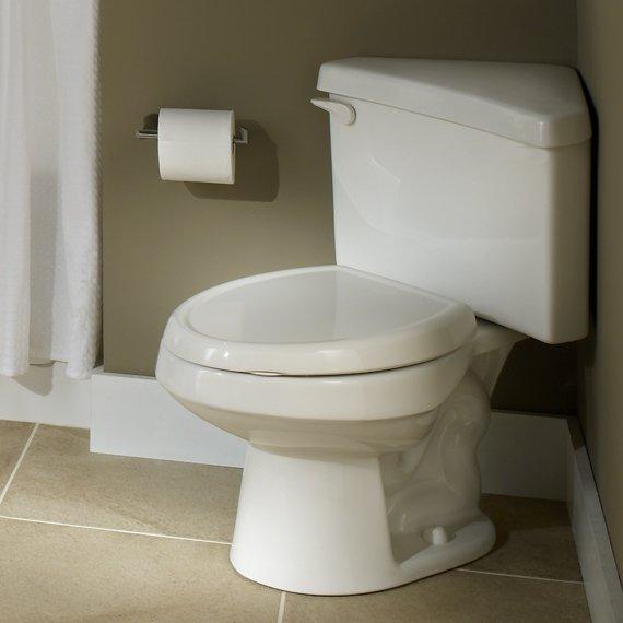 Kohler Corner Toilet : ... Toilet Tank, White (Tank Only) - Toilet Water Tanks - Amazon.com