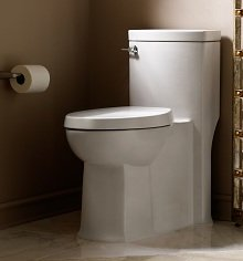 Add some class and a bit of toilet seat technology to your bathroom
