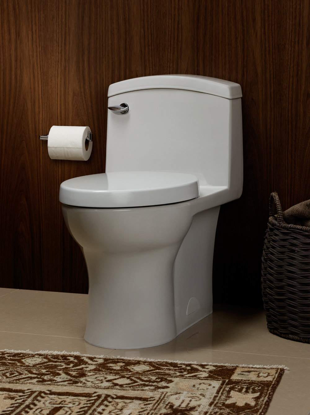 Bathroom American Standard Portsmouth With Perfect Casual: Porcher 97320-60.001 Veneto One Piece Elongated Toilet