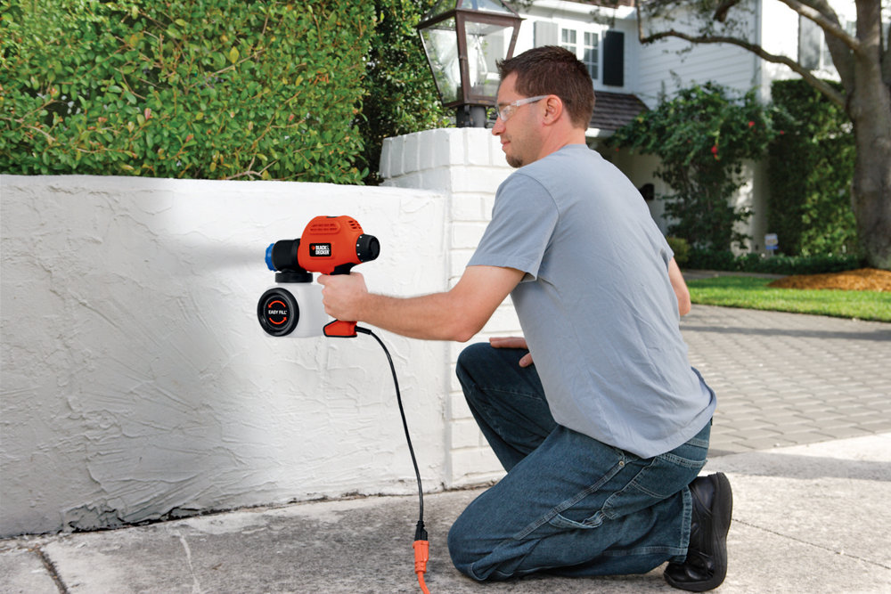 Black & Decker BDPS200 Paint Sprayer with Side Fill - Power Paint ...