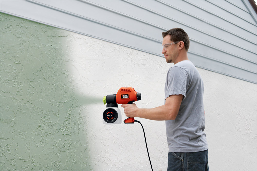 Black & Decker BDPS200 paint sprayer with side fill