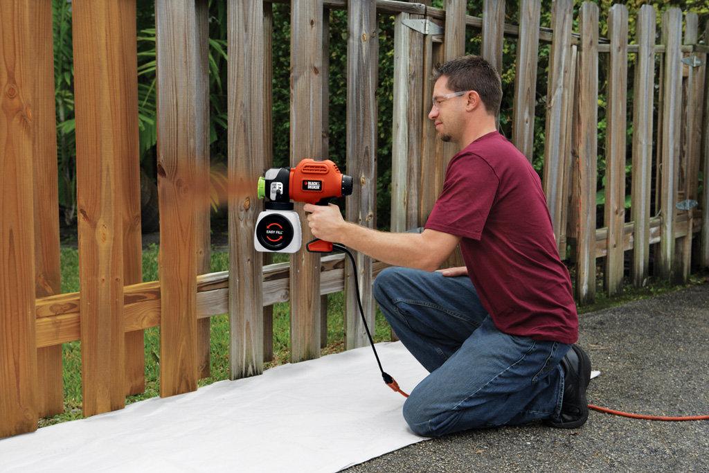 best paint sprayer for fence. Black Bedroom Furniture Sets. Home Design Ideas