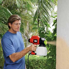 Black & Decker BDPS600K two-speed quick-clean paint sprayer