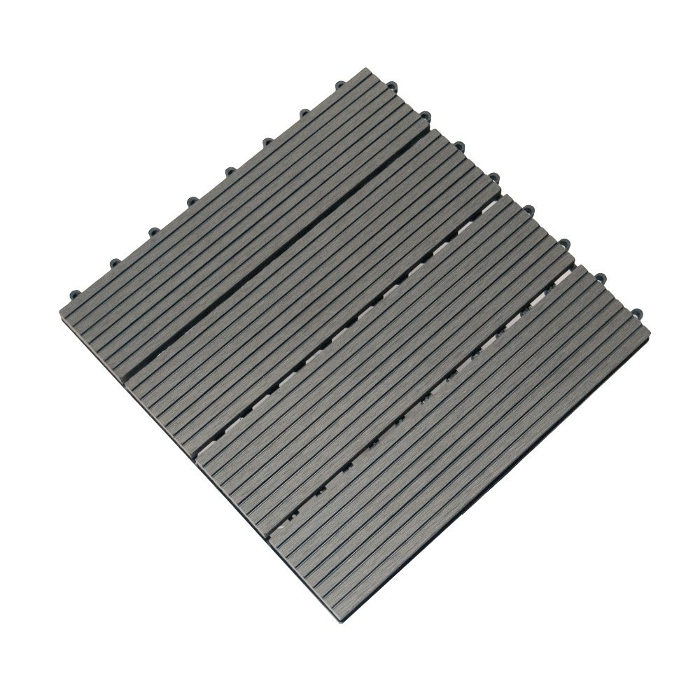 Boedika st02sa1 b bamboo composite interlocking brown deck tile 12 inch by 12 inch - How to install interlocking deck tiles ...