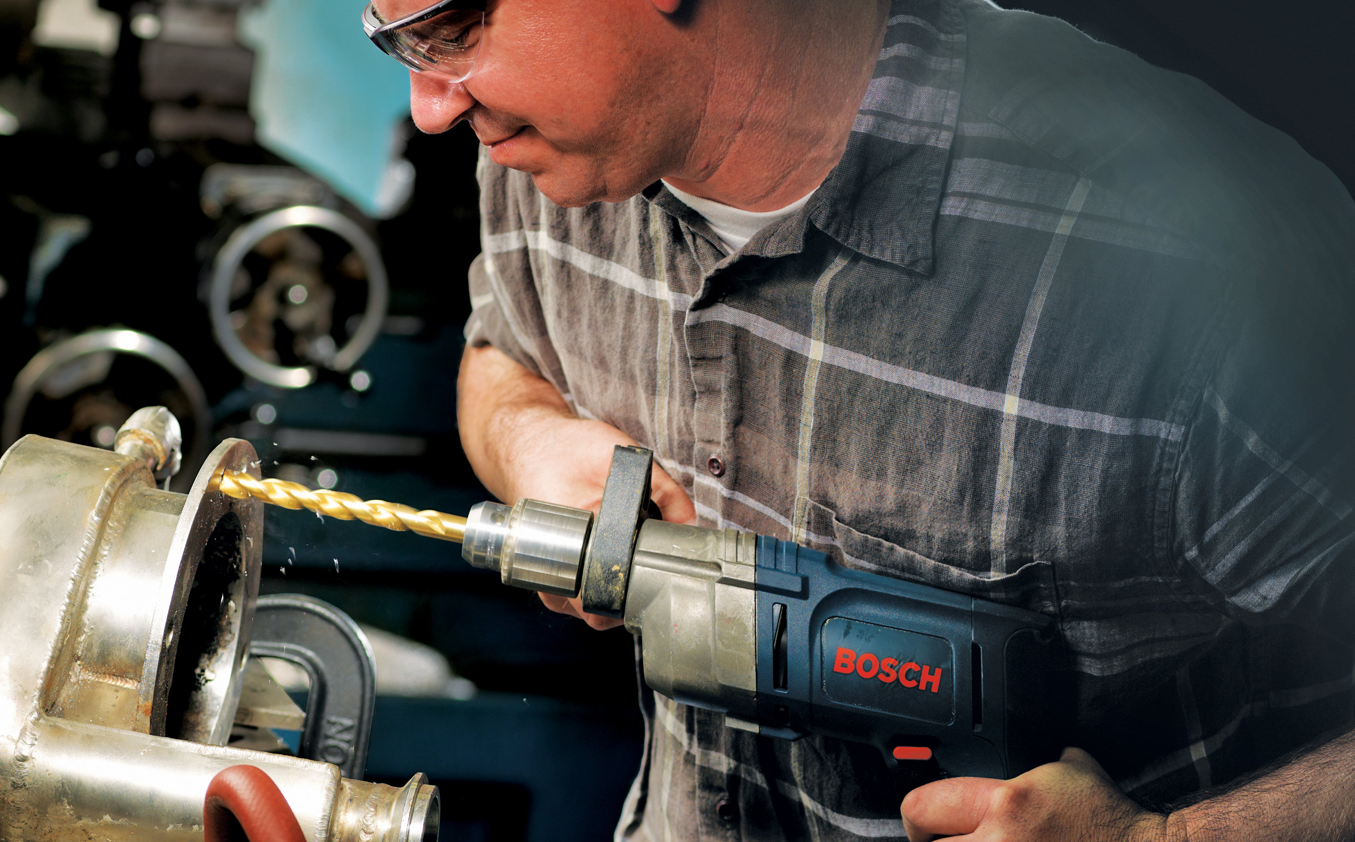 Cobalt Drill Bit Set >> Bosch TI18 18-Piece Titanium Twist Drill Bit Set with ...