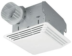 Broan 684 Ceiling Mount Ventilation Fan 80 Cfm 2 5 Sones Lowes Home Depot
