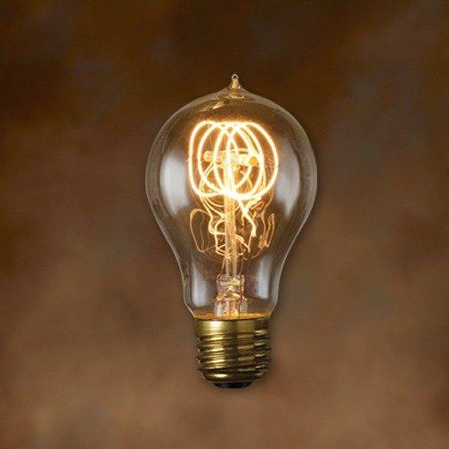 Bulbrite 134020 40w Nostalgic Edison Quad Loop Style Bulb