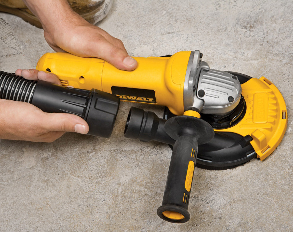 Dewalt Dwe46151 5 Inch Surface Grinding Dust Shroud Kit
