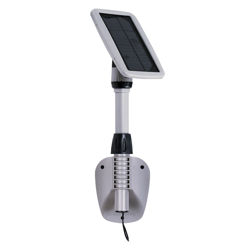 Amazon.com: Gama Sonic Light My Shed III Solar LED Shed Light ...