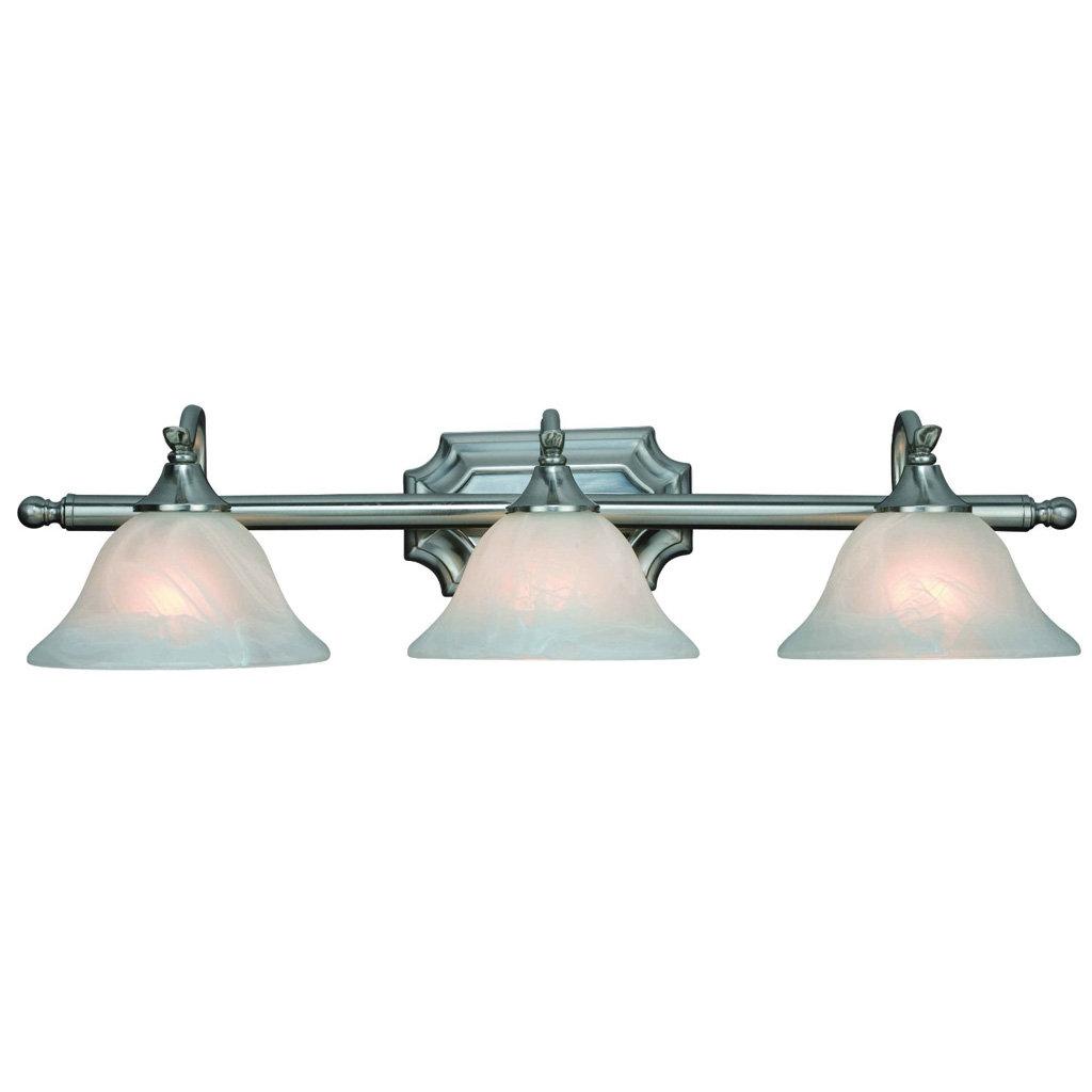 Amazon Bathroom Light Fixtures: Hardware House H10-4777 Dover 3-Light Bath Or Wall Fixture
