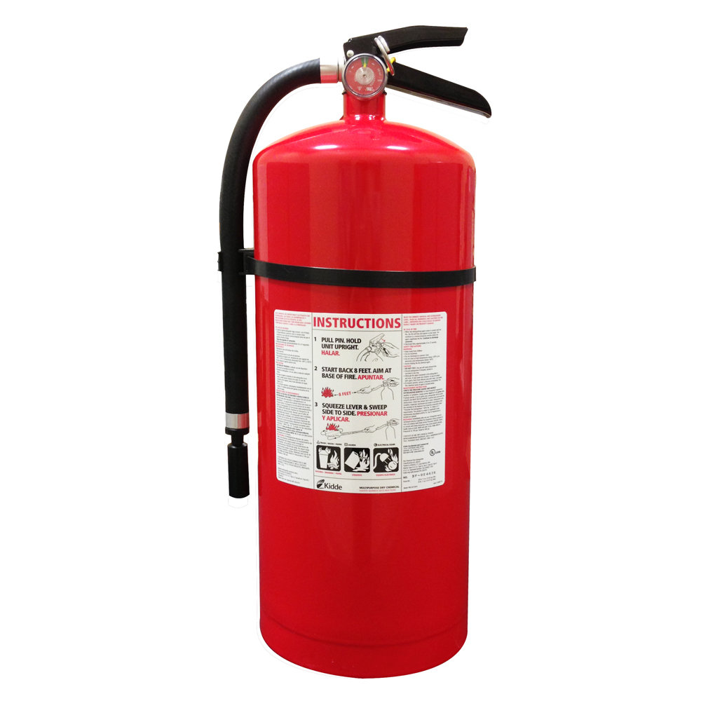 Kidde 466206 Pro 20 MP Fire Extinguisher, UL Rated 10-A
