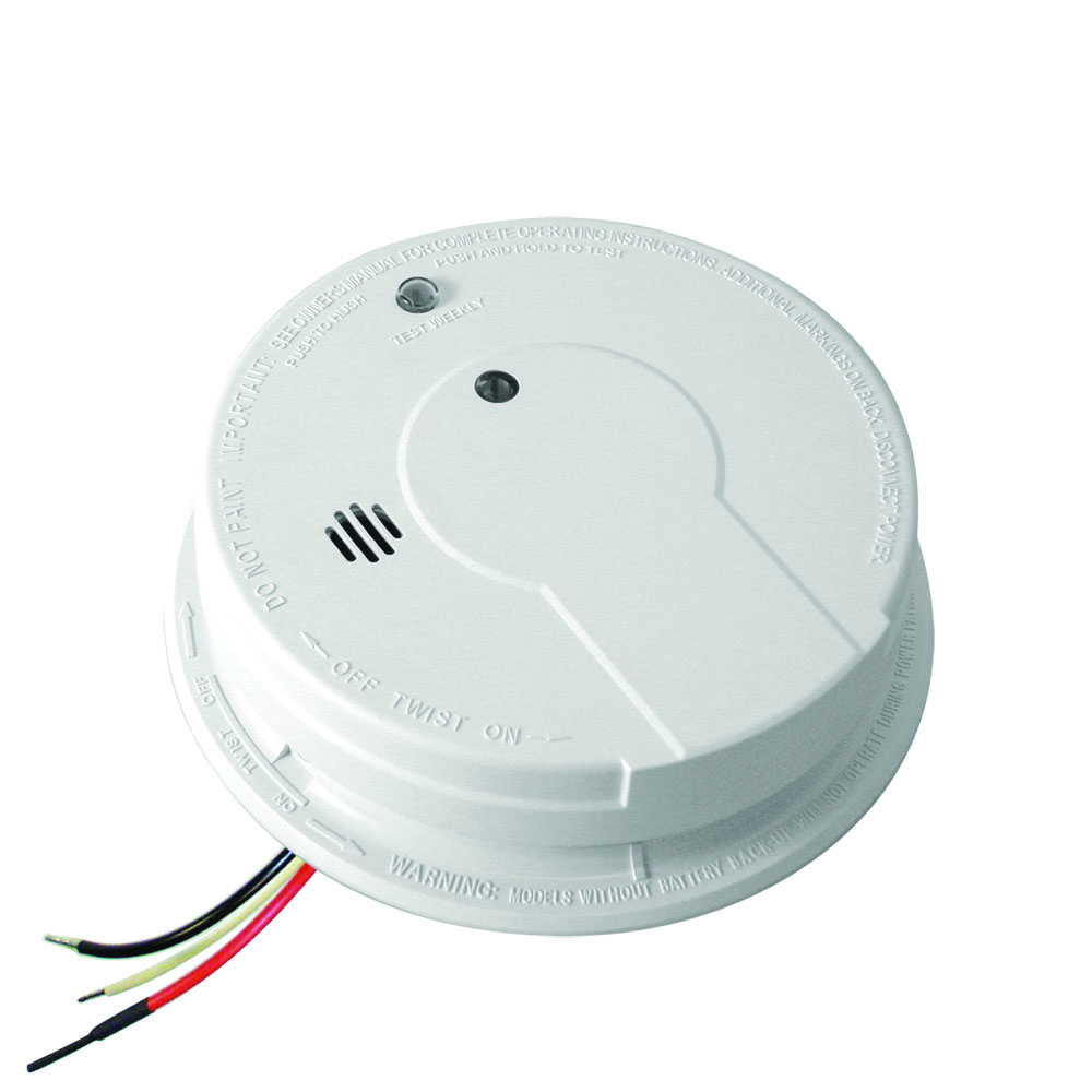 kidde p12040 hardwire with battery backup photoelectric smoke alarm. Black Bedroom Furniture Sets. Home Design Ideas