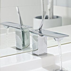 KOHLER K-14760-4-CP Stance Single-Control Lavatory Faucet