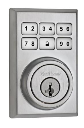 Kwikset Z-Wave deadbolt Satin Chrome