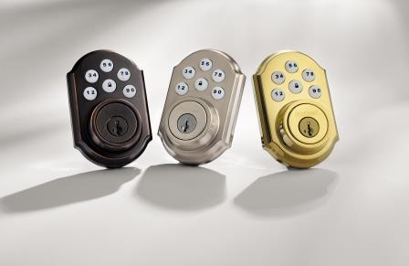 Z-wave contemporary deadbolt