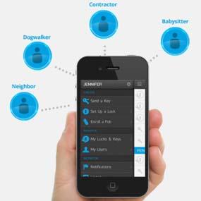 Kevo mobile app