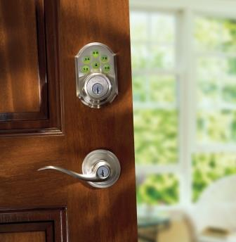 Kwikset Z-Wave deadbolt polished brass