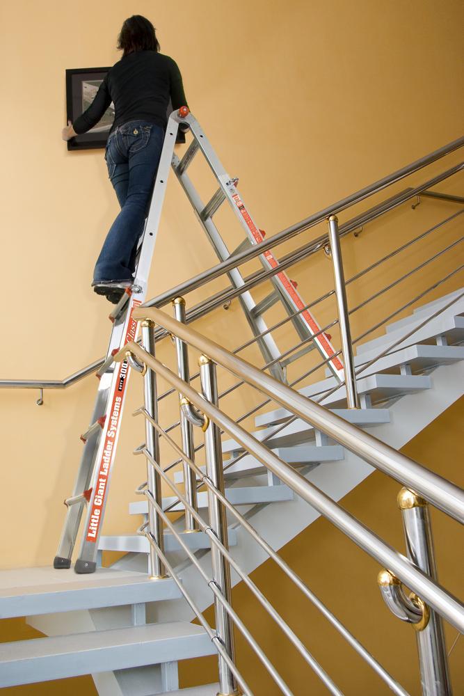 Amazon.com: Little Giant Classic 10103LGW 300-Pound Duty-Rating Ladder