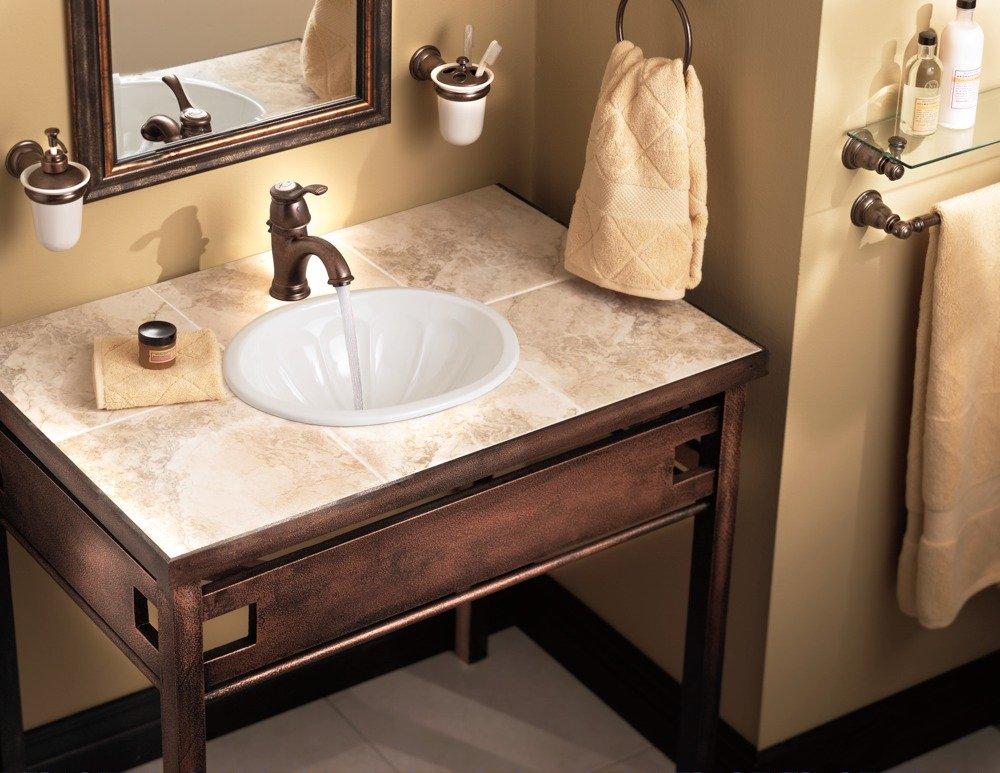 6102 lifestyle - Moen rubbed bronze bathroom faucets ...