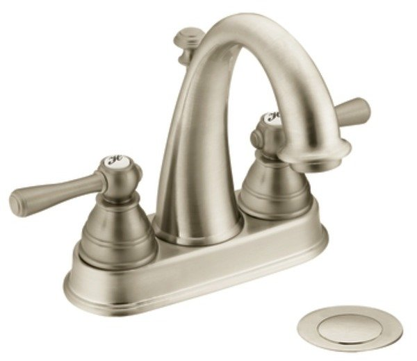 Brushed Nickel Faucet Bathroom : ... Bathroom Faucet, Brushed Nickel - Touch On Bathroom Sink Faucets