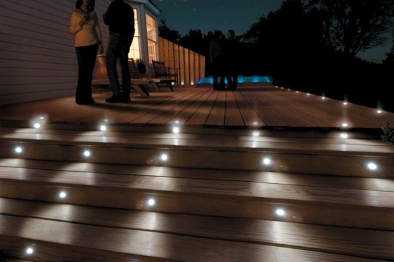 paradise garden lighting 39 s six piece 12 volt led deck lighting kit