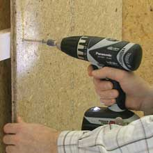 Panasonic's EY7441 14.4V Drill and Driver with a built in LED Light