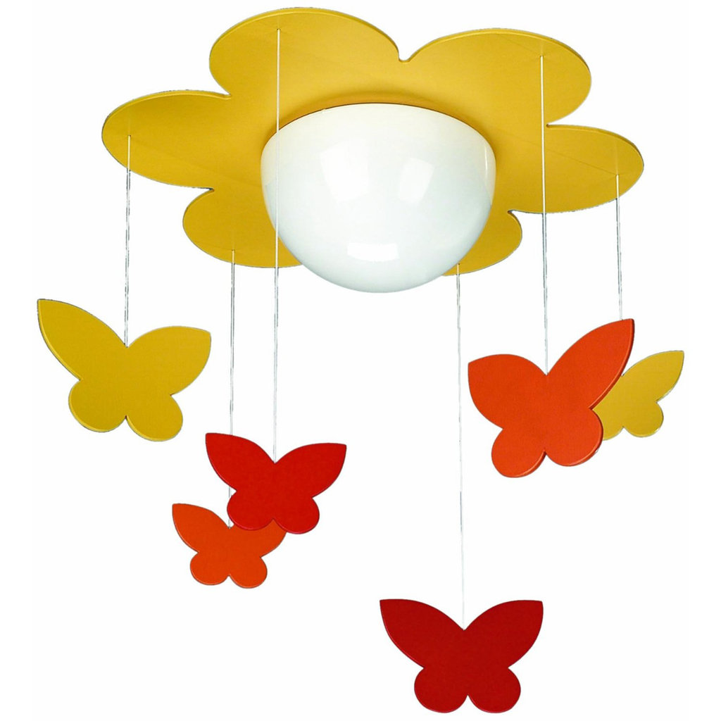 Philips 40096/34/48 KidsPlace Flower and Butterfly Ceiling Light ...