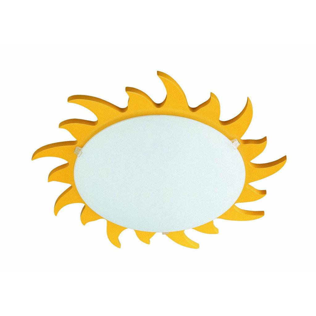 Philips 70614/06/48 Kidsplace Sun Flushmount Ceiling Or
