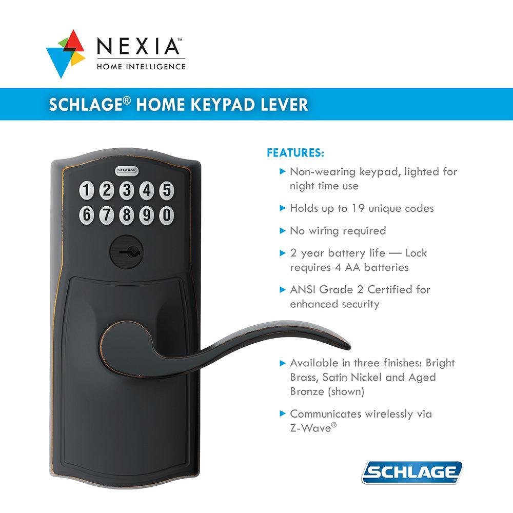 Schlage Lever Nexia Starter Kit Ebay