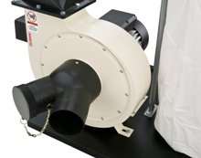 W1685 1.5-Horsepower 1,280 CFM Dust Collector