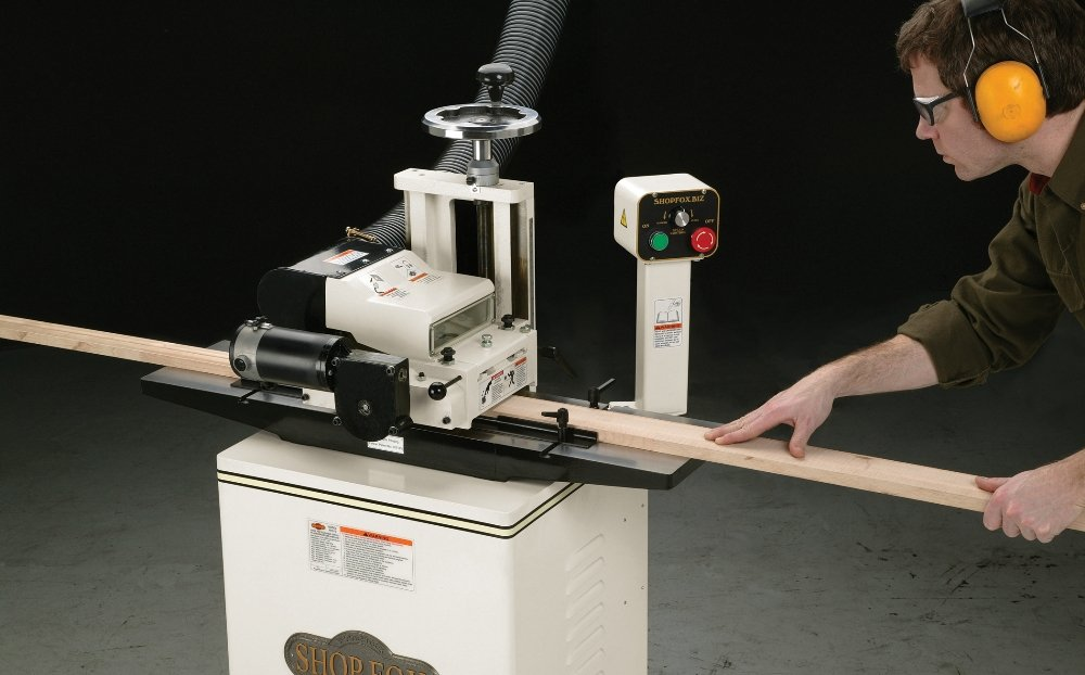 Shop Fox W1812 Planer Moulder with Stand - Power Planers - Amazon.com