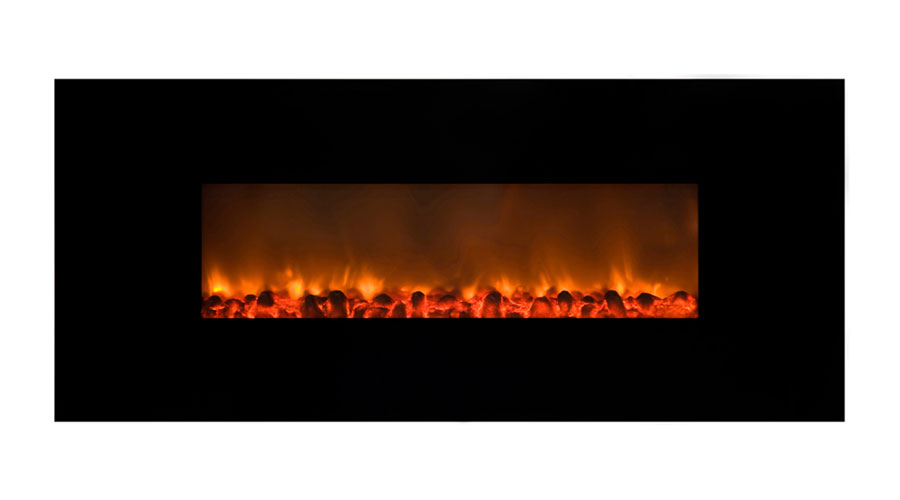 Yosemite Home Decor Df Efp148 Wall Hung Electric Fireplace Black Home Improvement