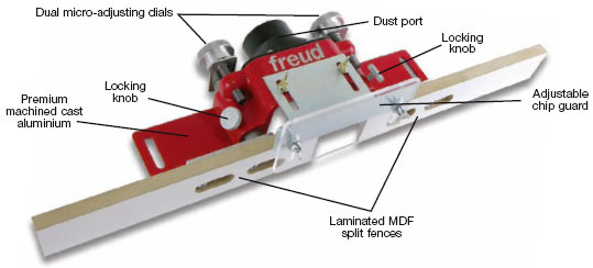 Freud SH-5 Professional Micro-Adjustable Router Table Fence by Freud