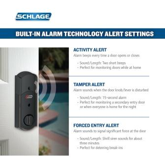 Built-in Alarm Feature