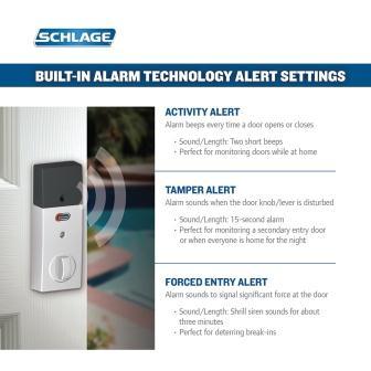 Built-in Alarm Feature