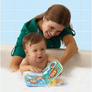 Reading fun while taking a bath!