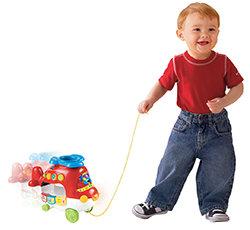 Toddler pulling
