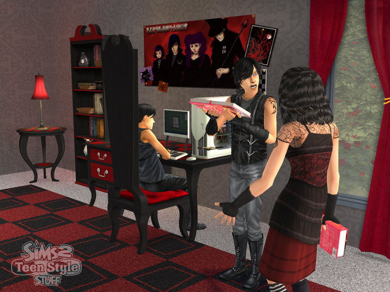 The sims 2 teen style stuff pc video games for Zimmer einrichtungen