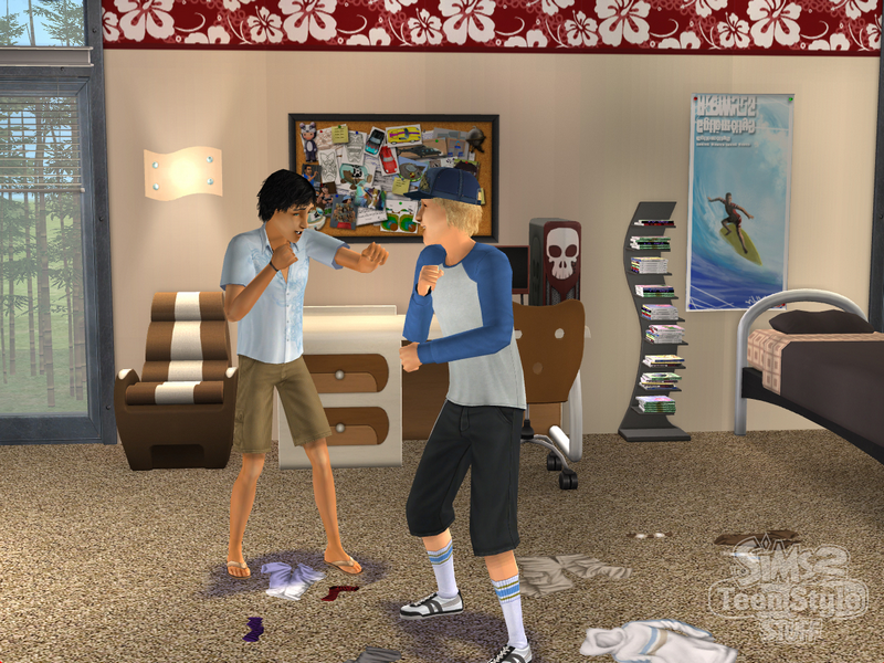 Amazon.com: The Sims 2: Teen Style Stuff - PC: Video Games