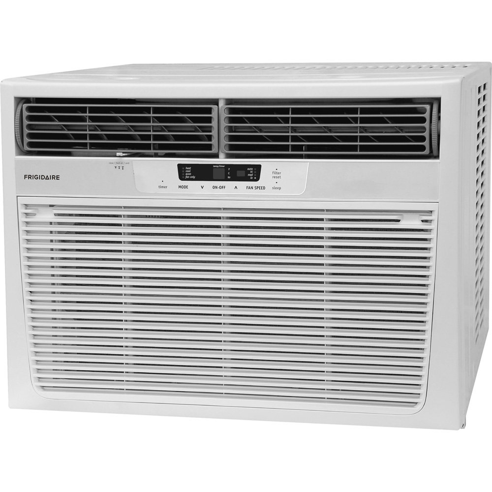 Heat cool room air conditioner for 115v window air conditioner with heat