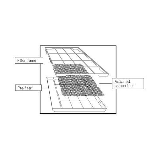 Replaceable Carbon Filter