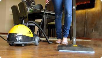 Mc1275 heavy duty steam cleaner sealed flooring for Steam clean garage floor