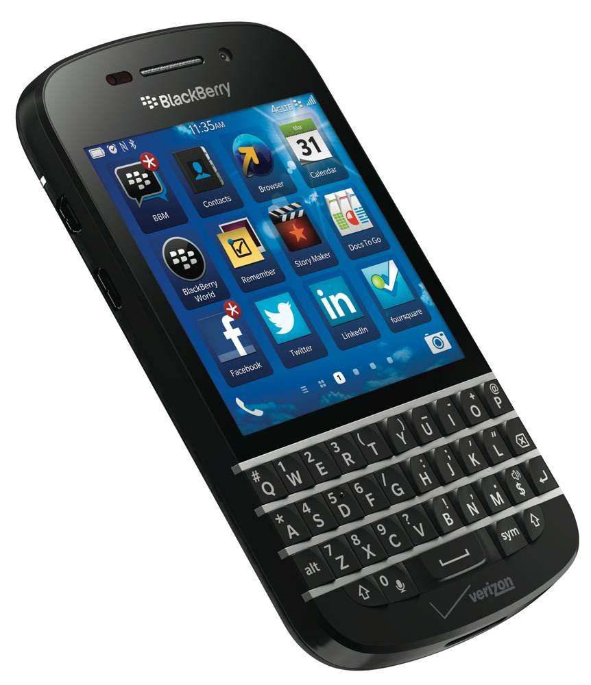 Blackberry Q10: BlackBerry Q10, Black (Verizon Wireless)