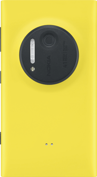 Nokia Lumia 1020 Back - Yellow