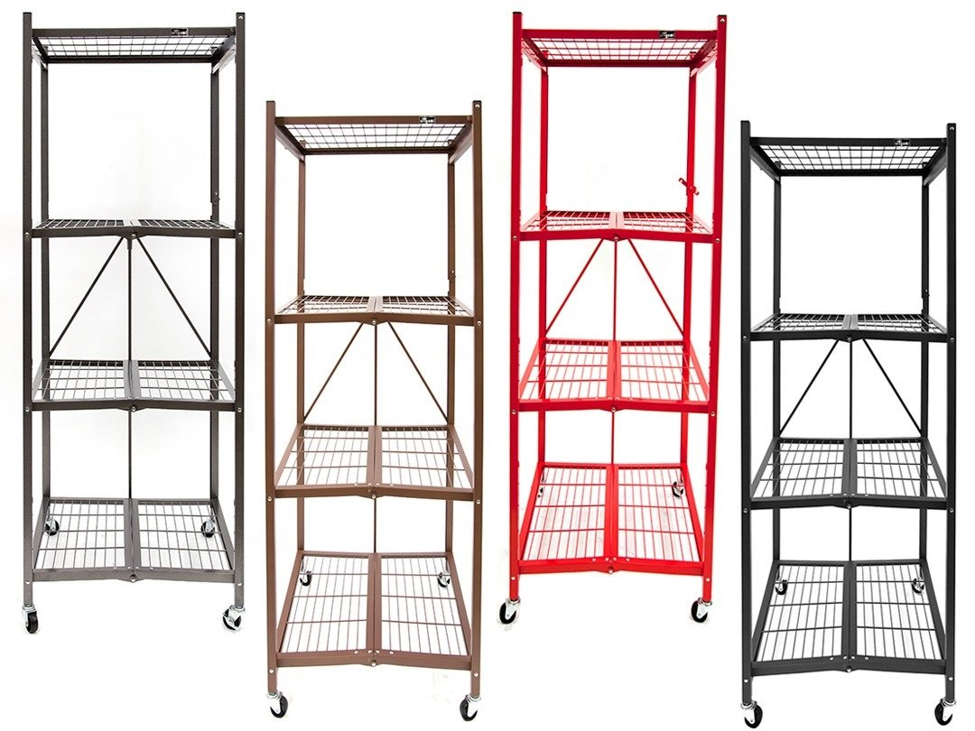 origami r5sred heavy duty square rack red garage