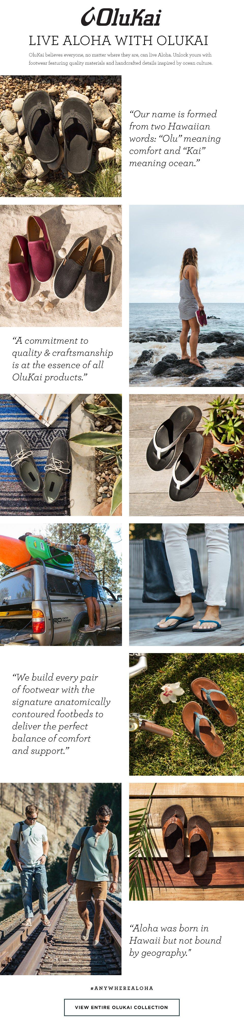 OluKai Shoes at Zappos: Live Aloha